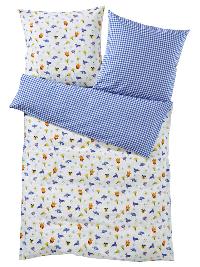 Webschatz 2-delige set bedlinnen Clara, multicolor