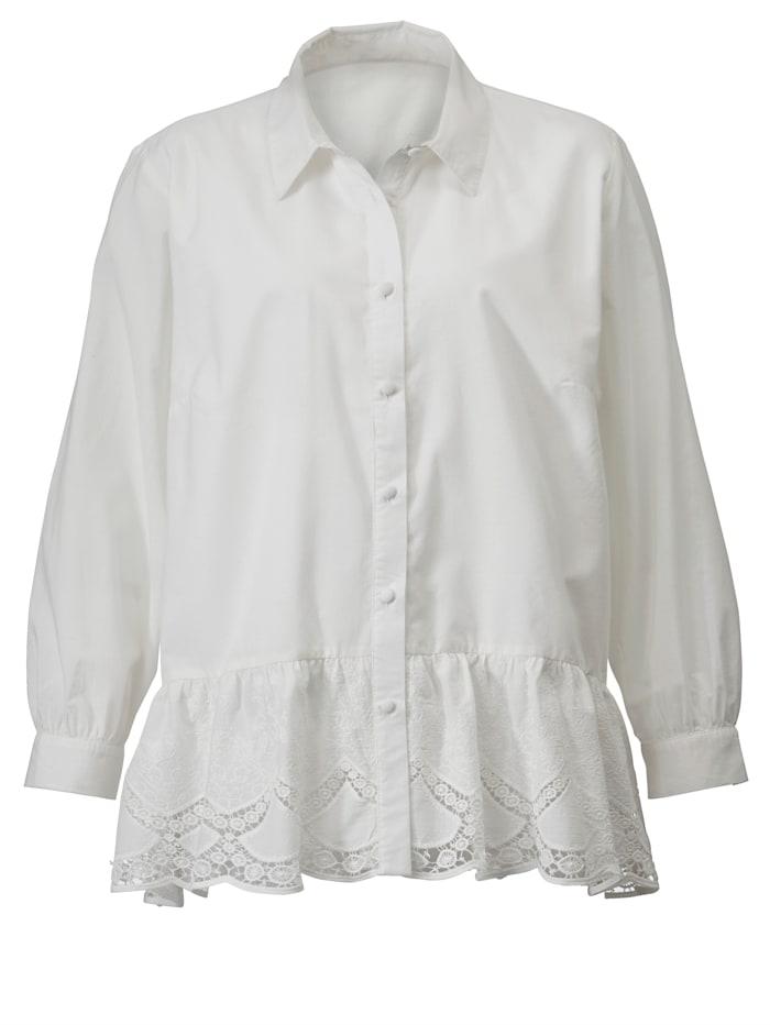 Dlhá blúzka z čistej bavlny