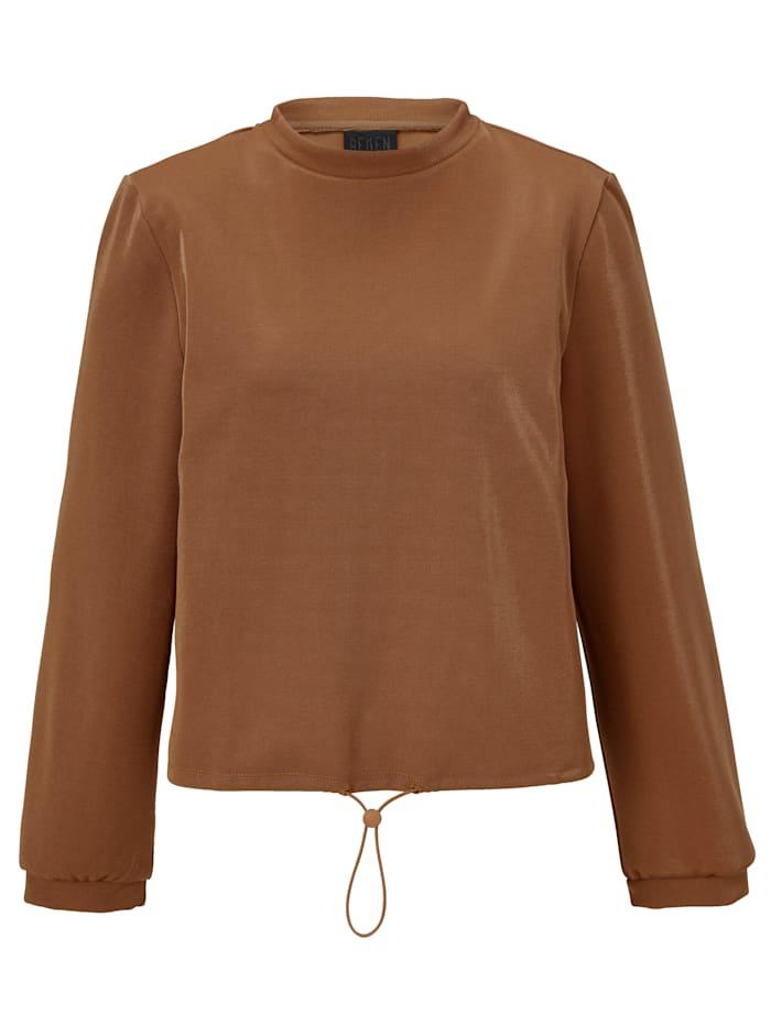 REKEN MAAR Sweatshirt, Cognac