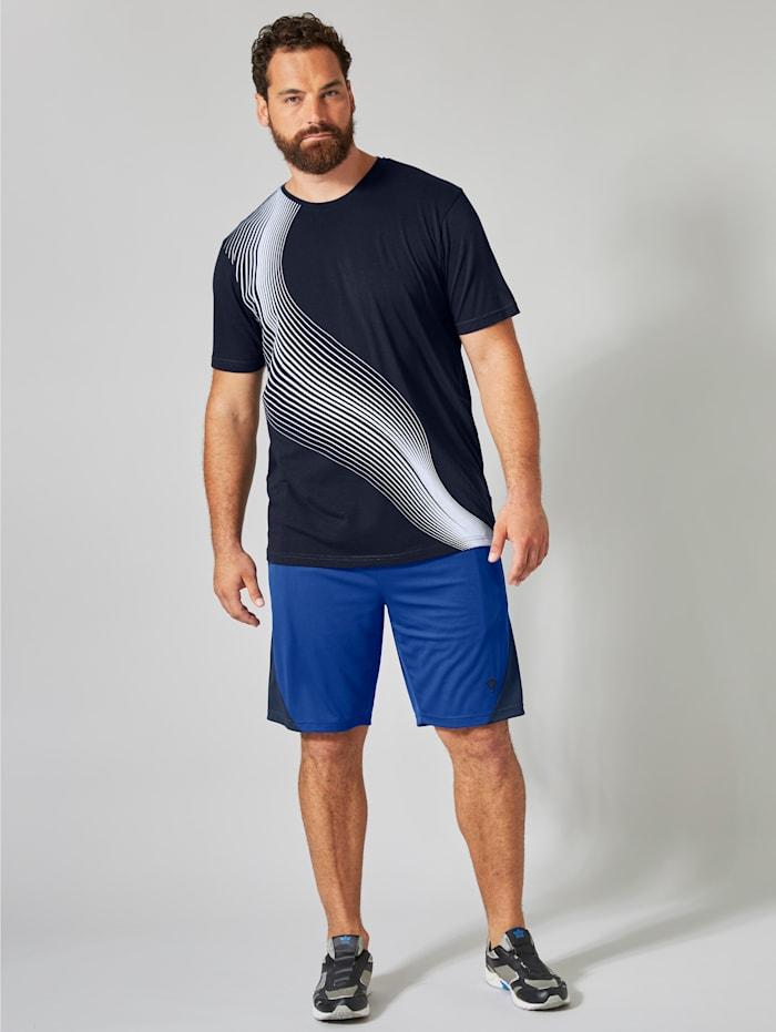 Tričko s kontrastnou potlačou