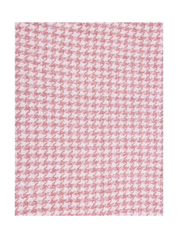 Schal mit modischem Hahnentritt-Muster