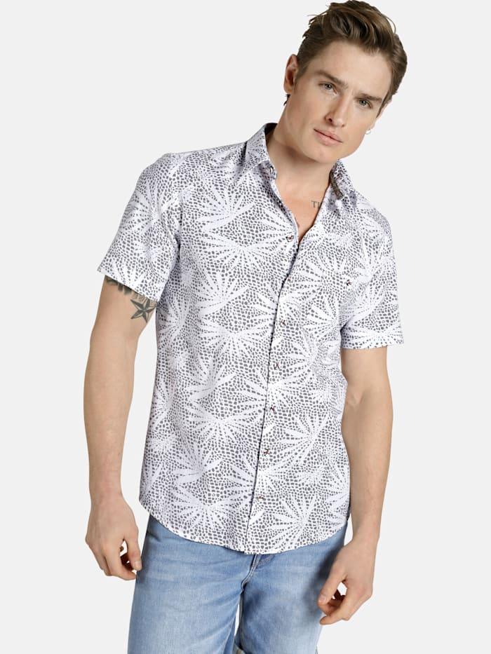 Shirtmaster Shirtmaster Kurzarmhemd honoluludream, grau