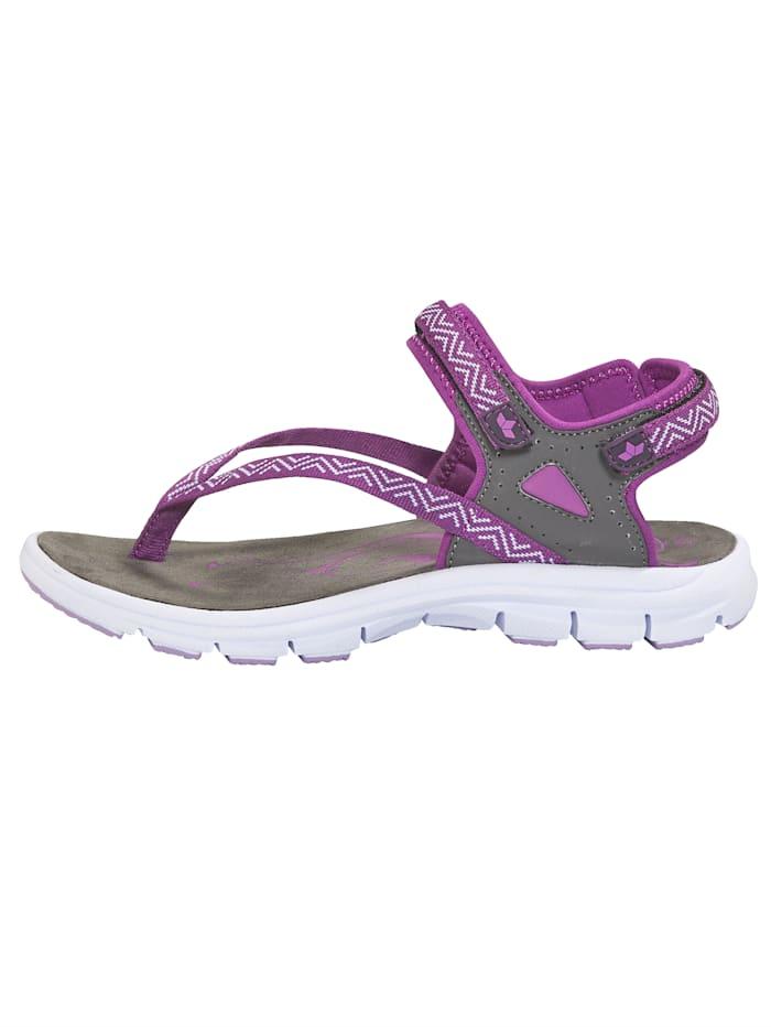 Trekové sandály s variabilně nastavitelnými suchými zipy