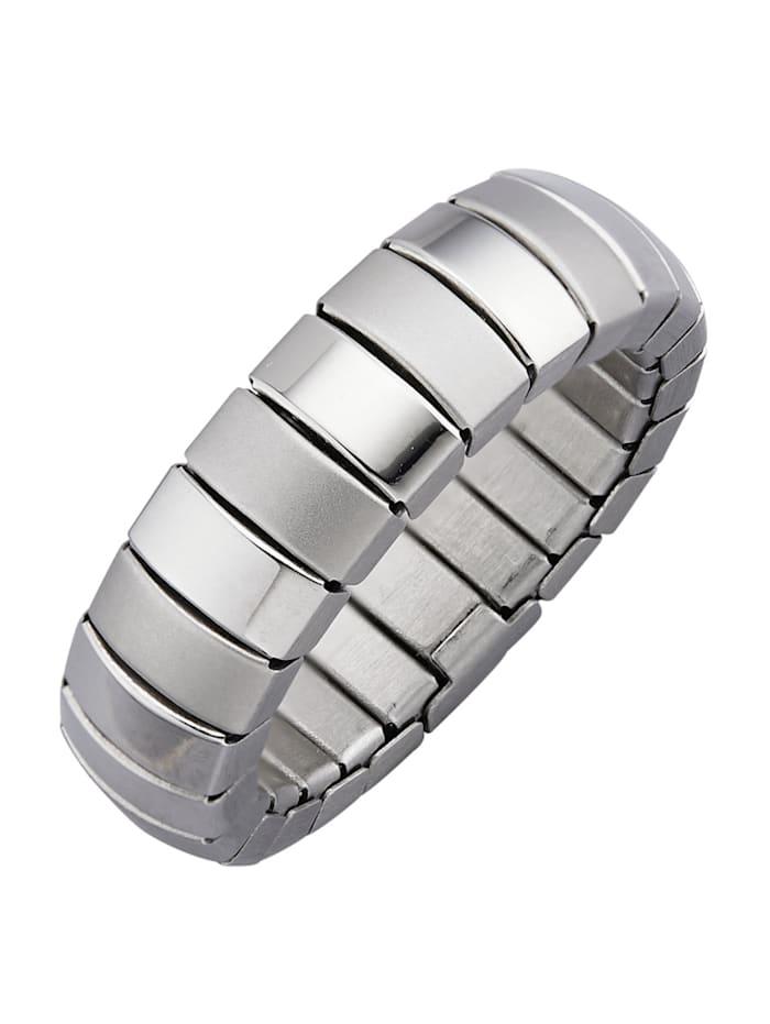 Magnetic Balance Ring i rostfritt stål med magnet, Silverfärgad