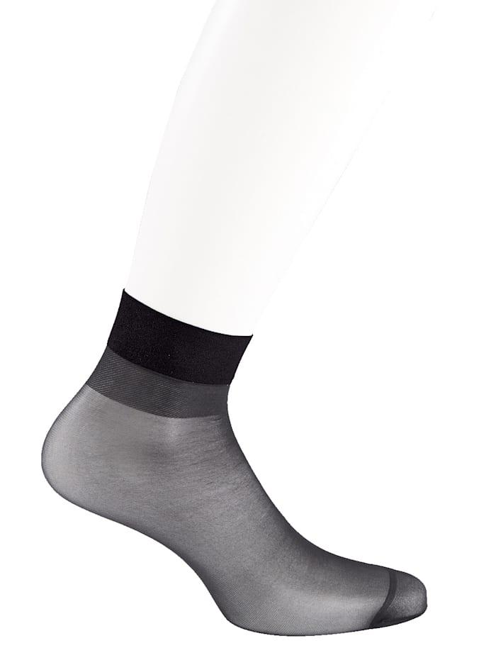 Socquettes fines Bordure confortable douce
