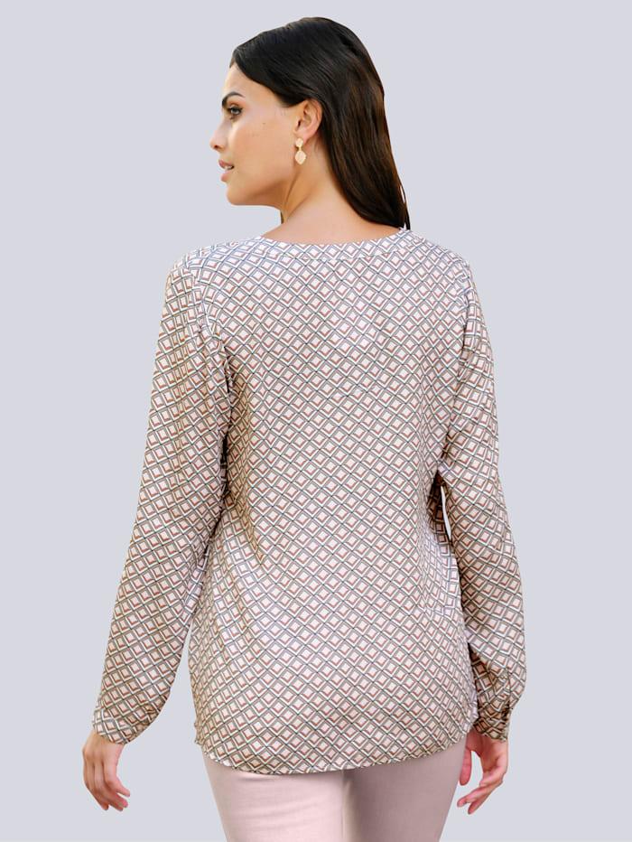 Blúzka s exkluzívnym Alba Moda dizajnom