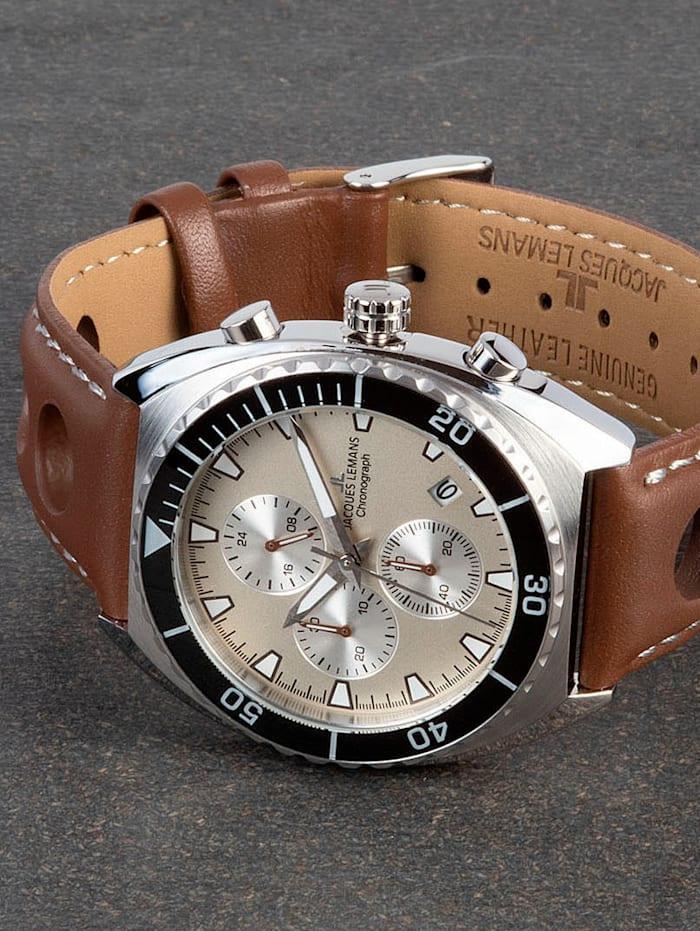 Herren-Chronograph Uhr Serie Retro 200 Kollektion Classic 1-2041D