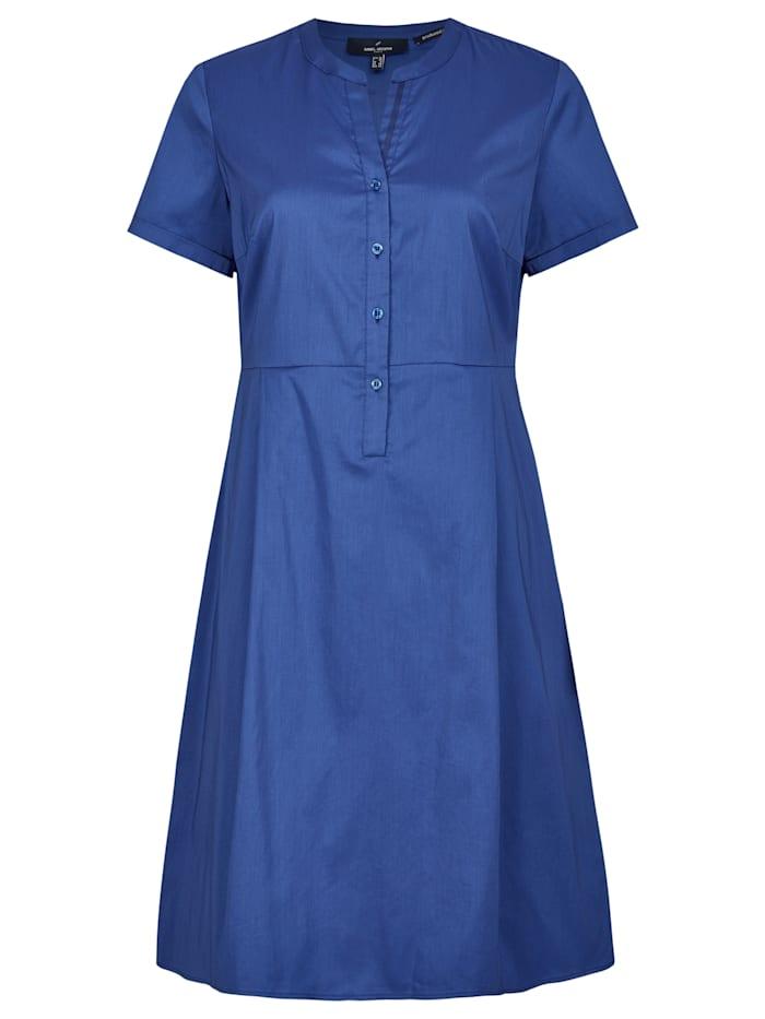 Daniel Hechter Modernes Kleid mit Knopfleiste, Cornflower