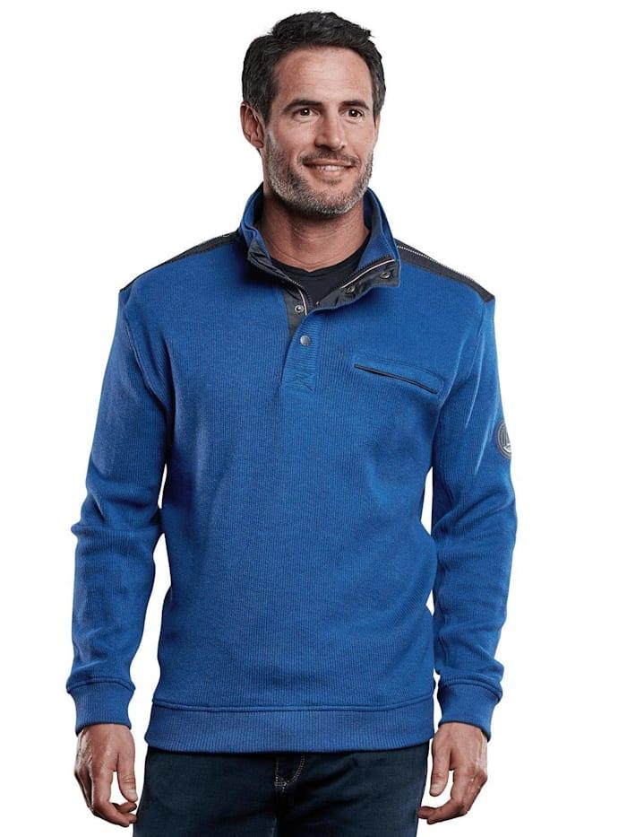 Engbers Sweatshirt Stehbund, Royalblau