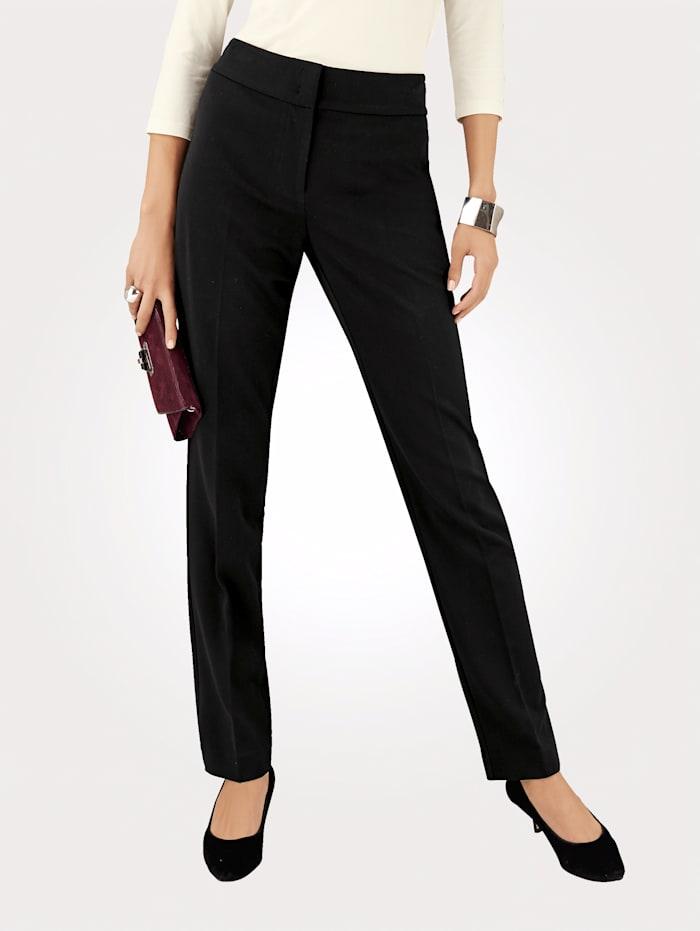 Artigiano Ultimate cigarette leg trousers, Black