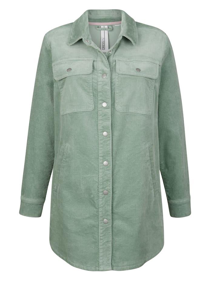 Manchesterjacka i skjortmodell