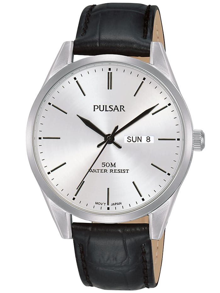 Pulsar Herren-Armbanduhr, Weiß