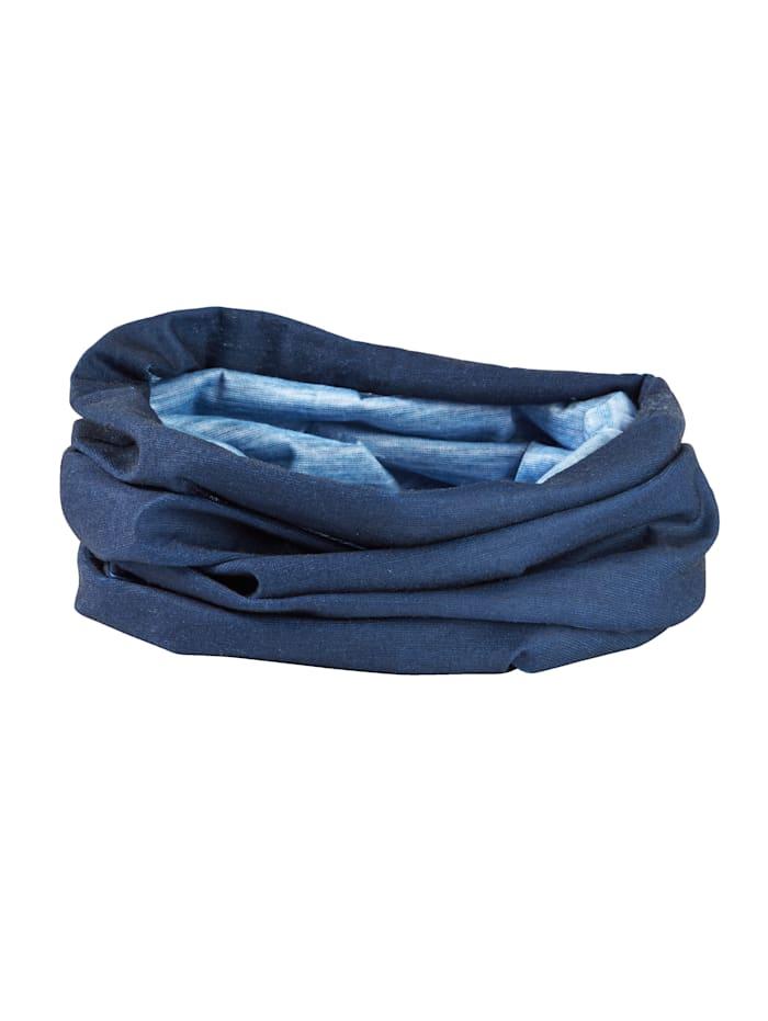 Écharpe loop, Bleu