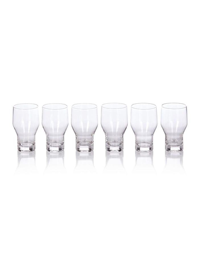 IMPRESSIONEN living Lot de 6 verres à eau, transparent