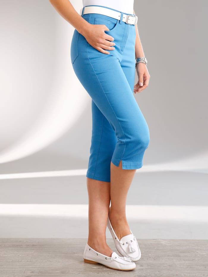 Paola Corsaire coupe 5 poches, Bleu ciel