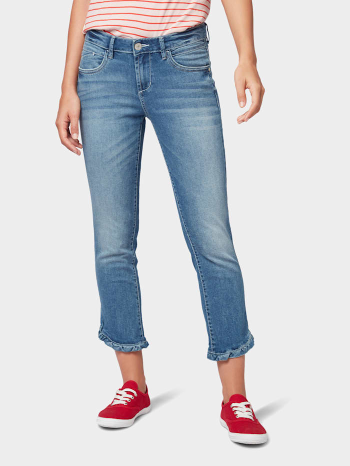 Tom Tailor Alexa Slim Jeans, Light Stone Blue Denim