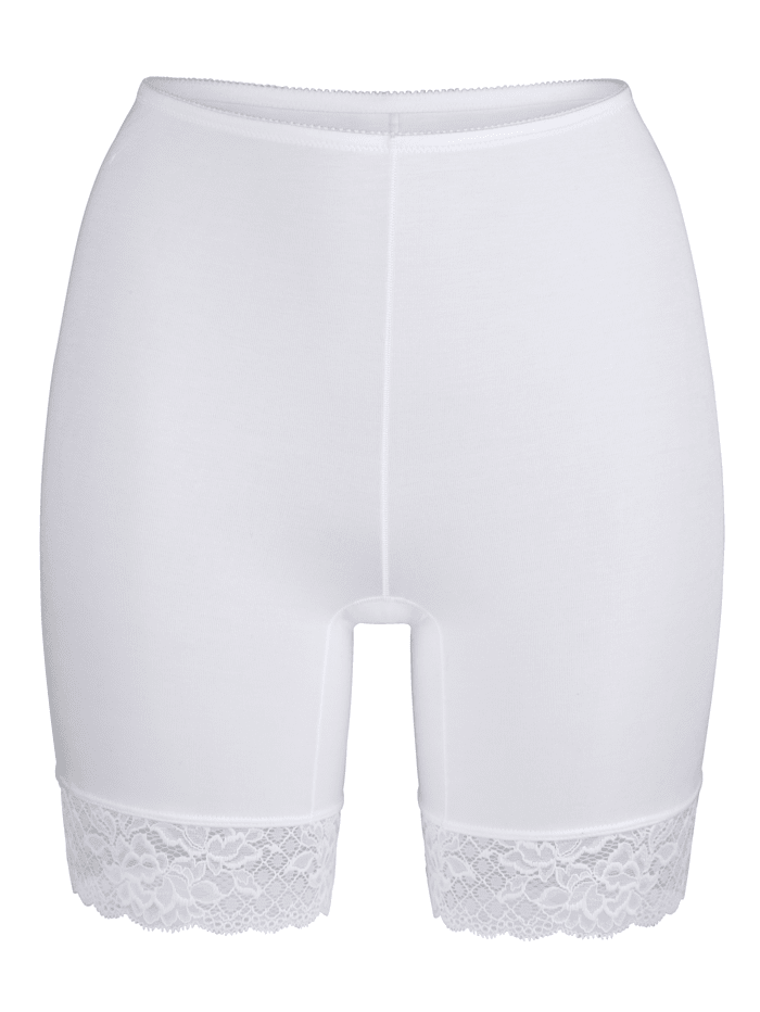 MONA Kurzpants, Weiß
