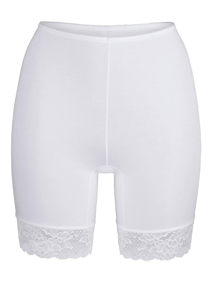 MONA Lahkeelliset alushousut, Valkoinen