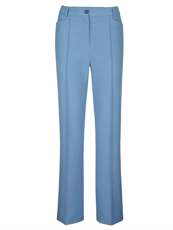 Pantalon en matière bi-extensible