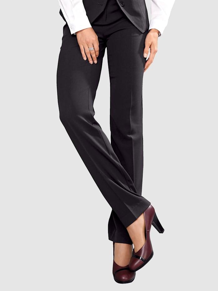Paola Bukse med buksepress, Svart