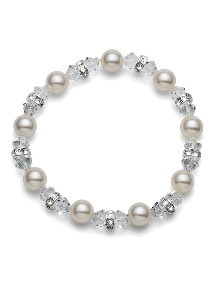 Oliver Weber Armband Pearl, weiss