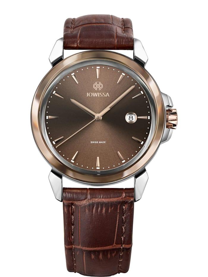Jowissa Quarzuhr LeWy 3 Swiss Men's Watch, braun