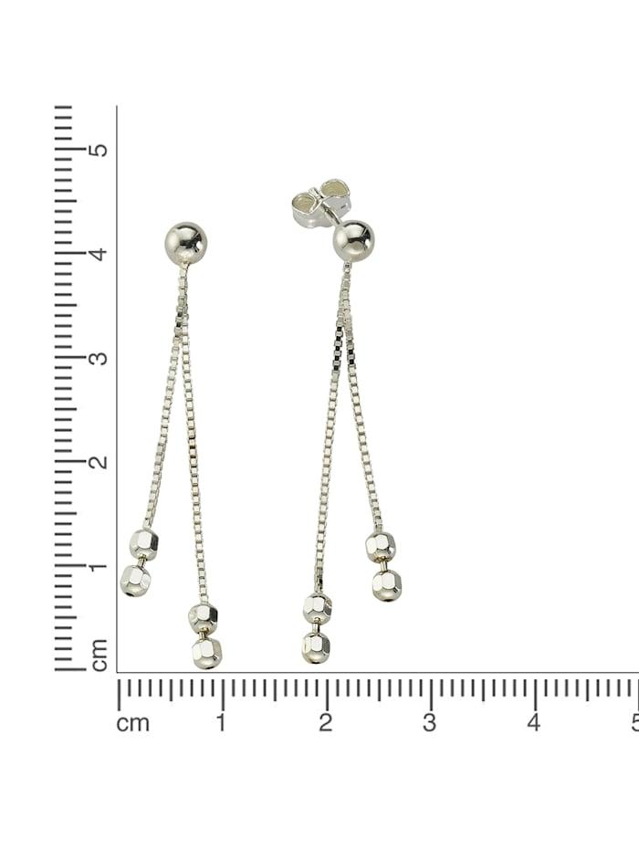 Ohrhänger 925/- Sterling Silber 4,4cm Rhodiniert 925/- Sterling Silber