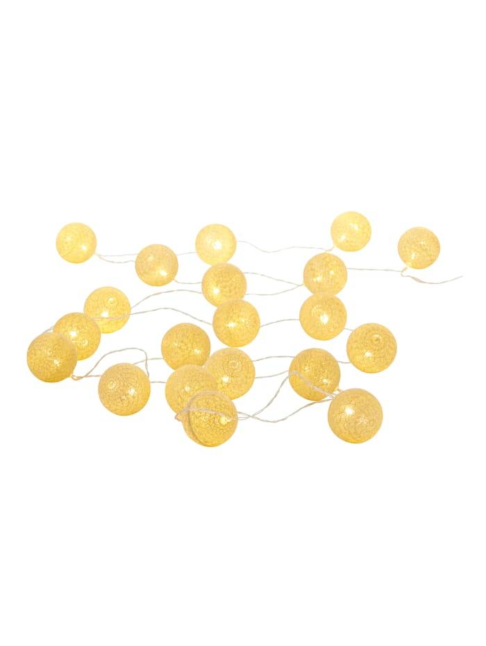 IMPRESSIONEN living Lichterkette, goldfarben