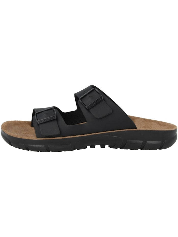 Birkenstock Sandale Bilbao Birko-Flor Weichbettung schmal, schwarz