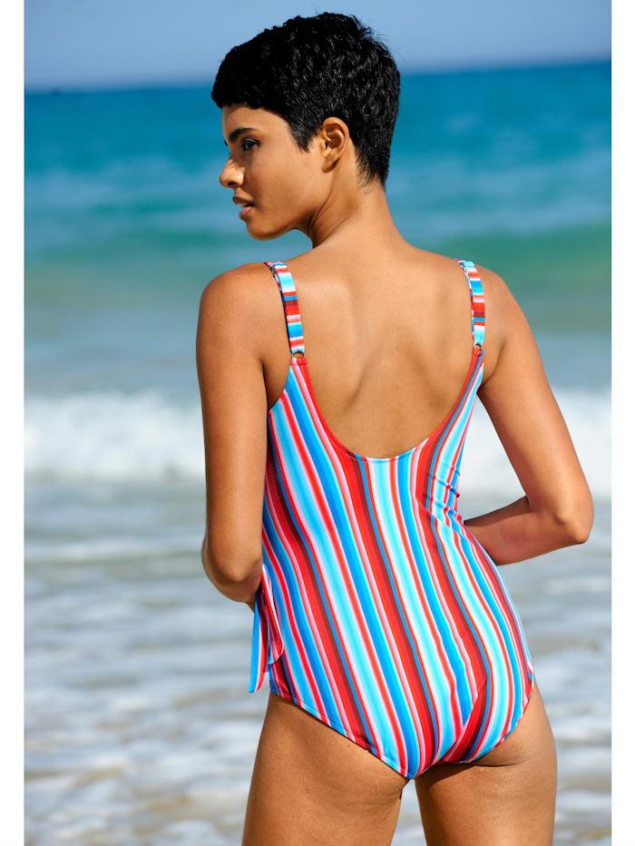 Badeanzug mit seitlicher Zierschleife