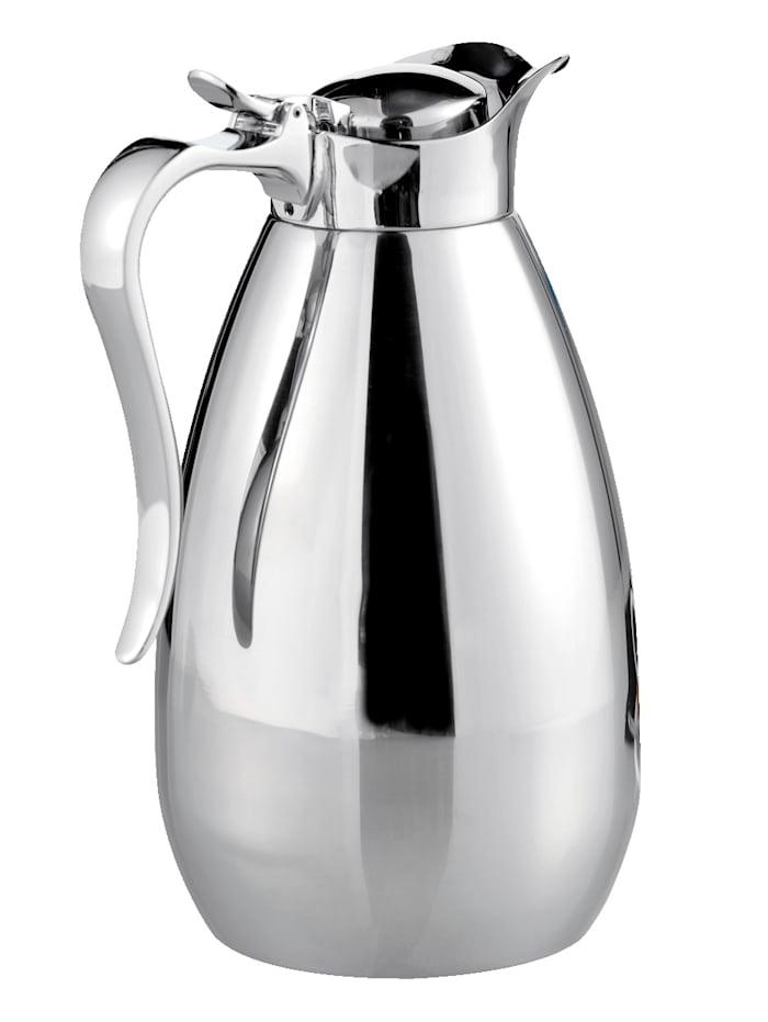 Esmeyer Isolierkanne 1,0 Liter, Silber