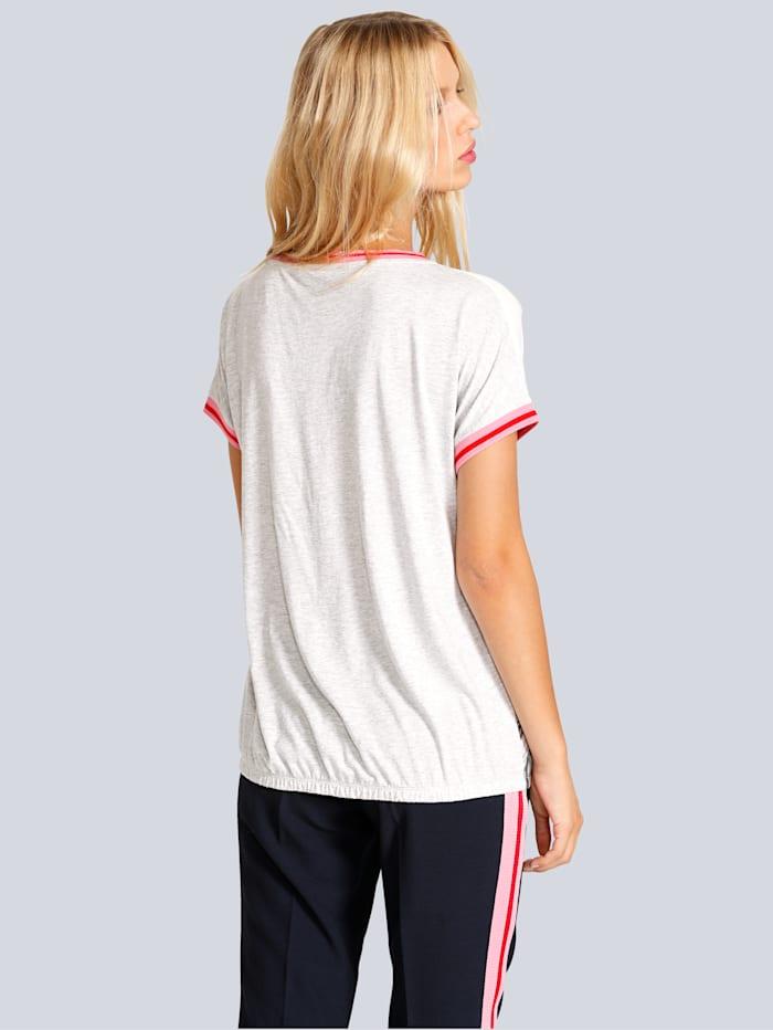 T-Shirt mit Rosen-Fotoprint