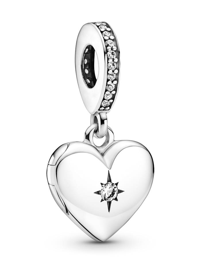 Pandora Charm-Anhänger -Herz- 799537C01, Silberfarben