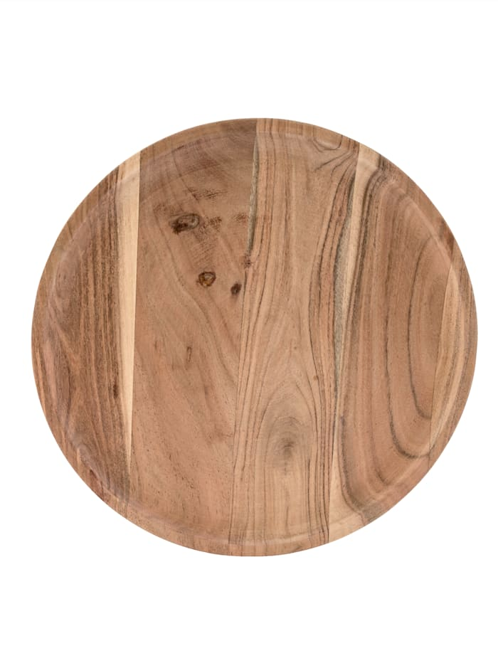 IMPRESSIONEN living Holzteller, naturfarben