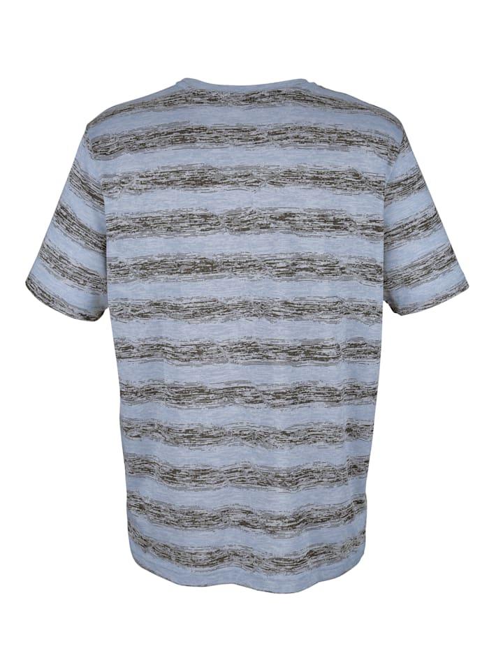 T-shirt à motif jacquard