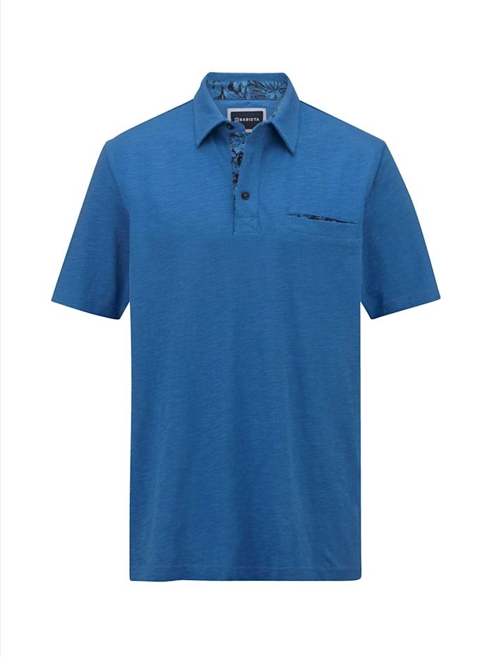 BABISTA Poloshirt mit bedruckten Details, Blau