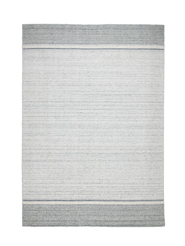 Theko®die Markenteppiche Handwebteppich Anton, Grau