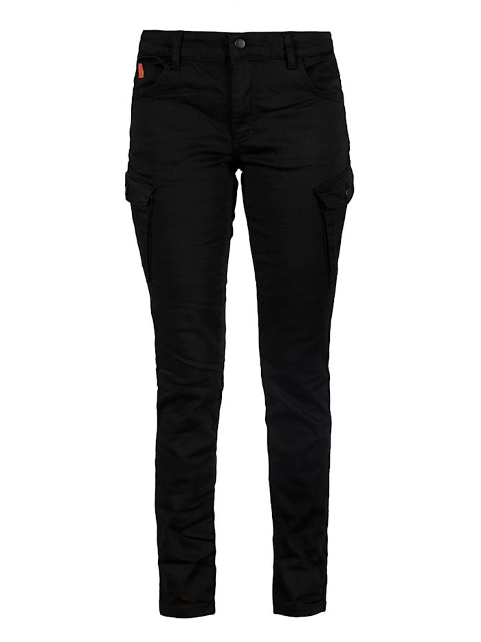 Miracle of Denim Slim Fit Cargo Hose, Black