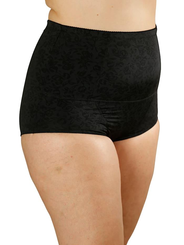 Culotte gainante en matière modelante devant et dos