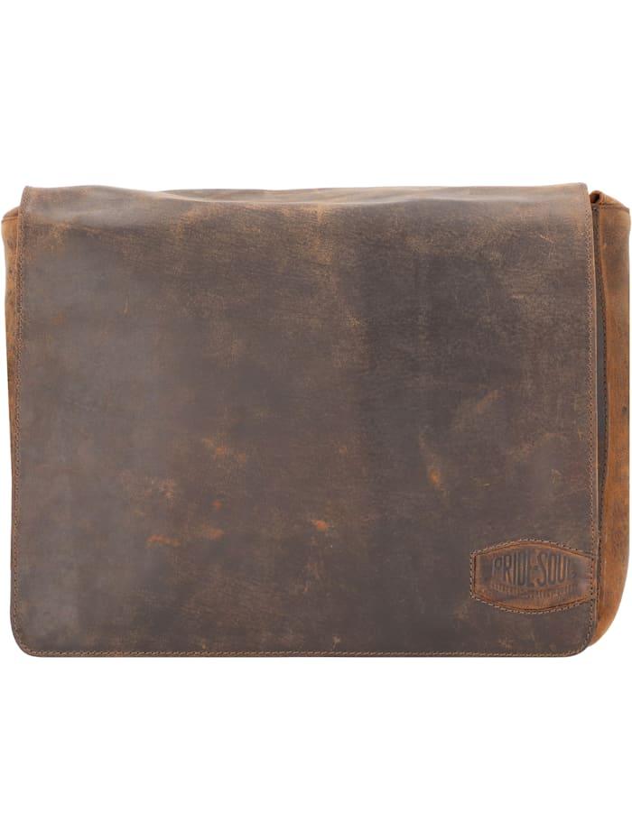 Ben Umhängetasche Leder 33 cm Laptopfach