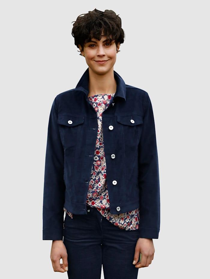 Dress In Jacke mit Brusttaschen, Marineblau