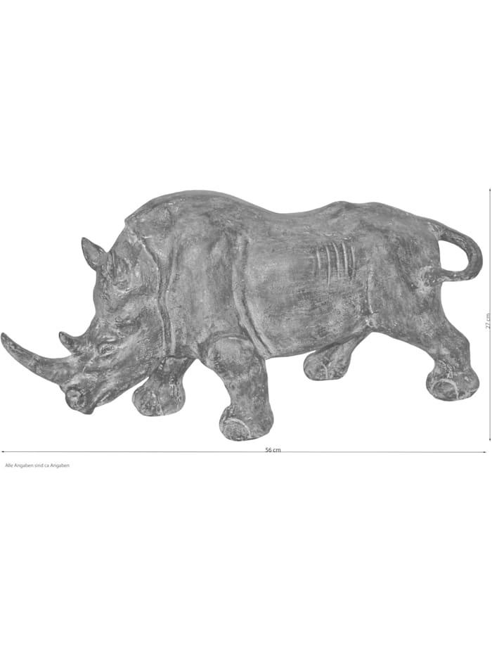 Möbel-Direkt-Online Standdekoration Nashorn, naturbraun