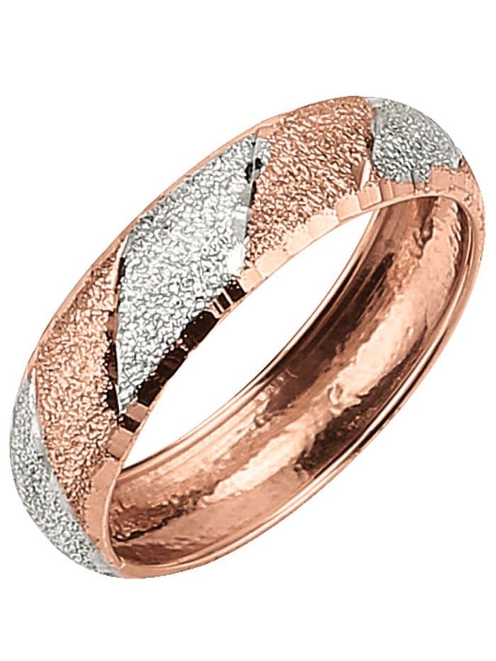 Damenring in Gold, Rosé