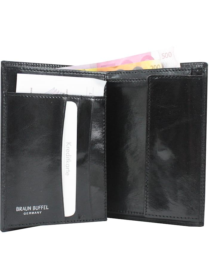 Basic Geldbörse Leder 10 cm