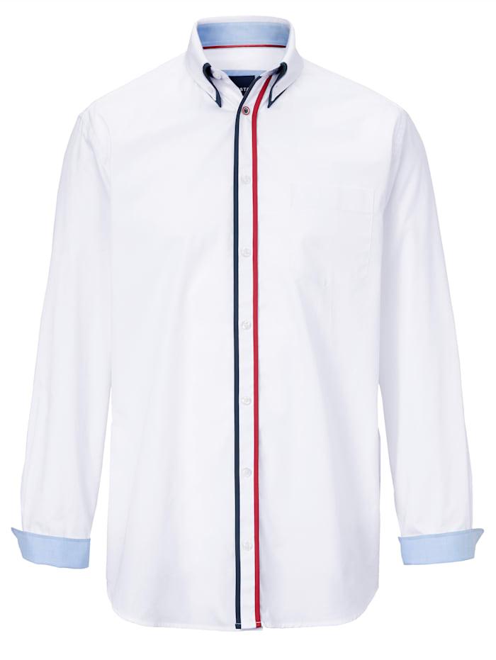 BABISTA Skjorta med button down-krage, Vit