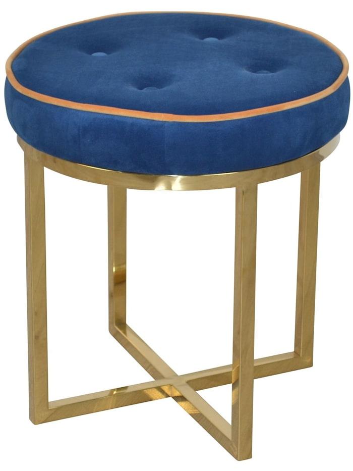 Möbel-Direkt-Online Sitzhocker Sandro, azurblau