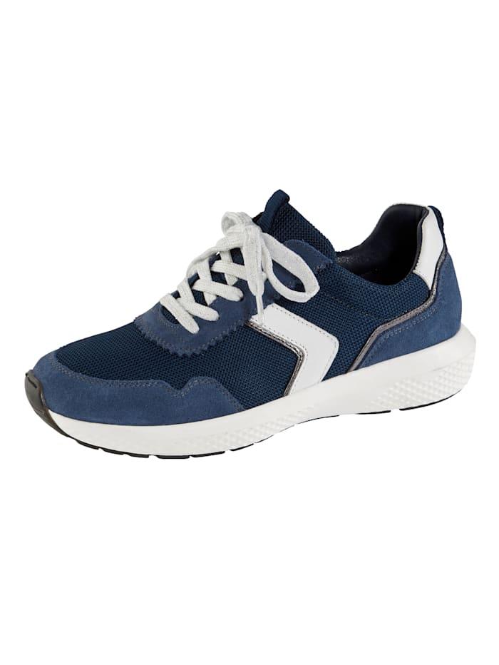 Naturläufer Sneakers à élément amortissant les chocs, Bleu