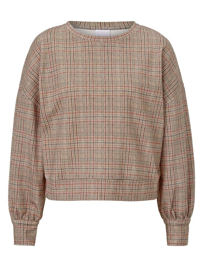 REKEN MAAR Sweatshirt, Beige