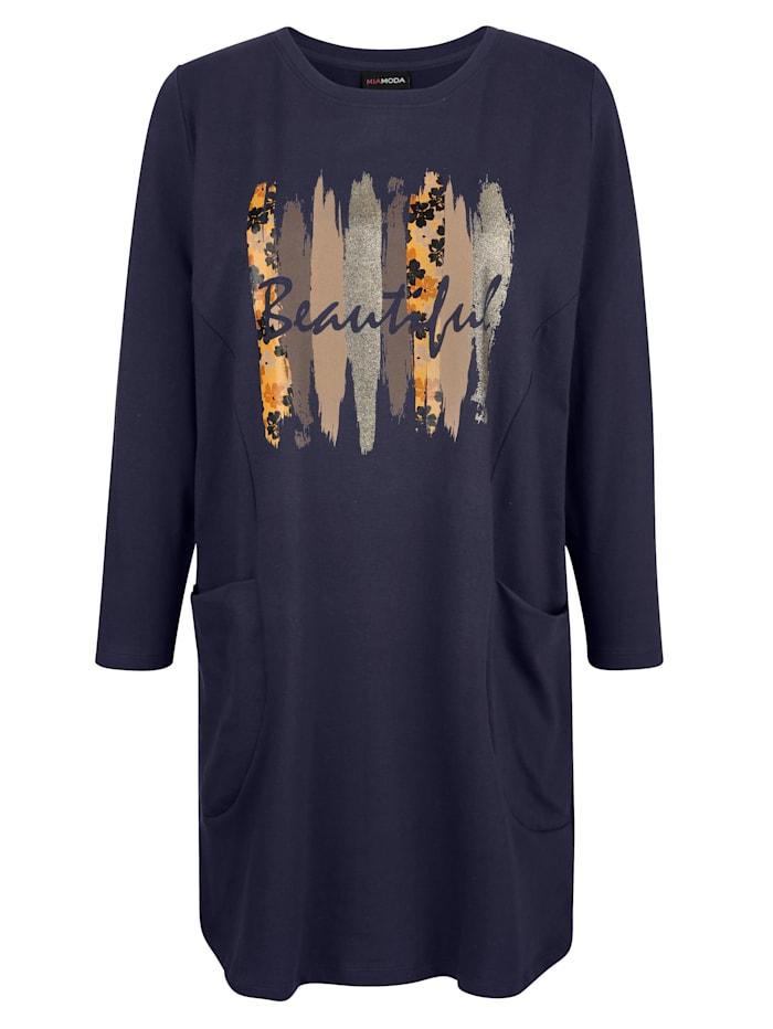 Longsweatshirt mit Foliendruck