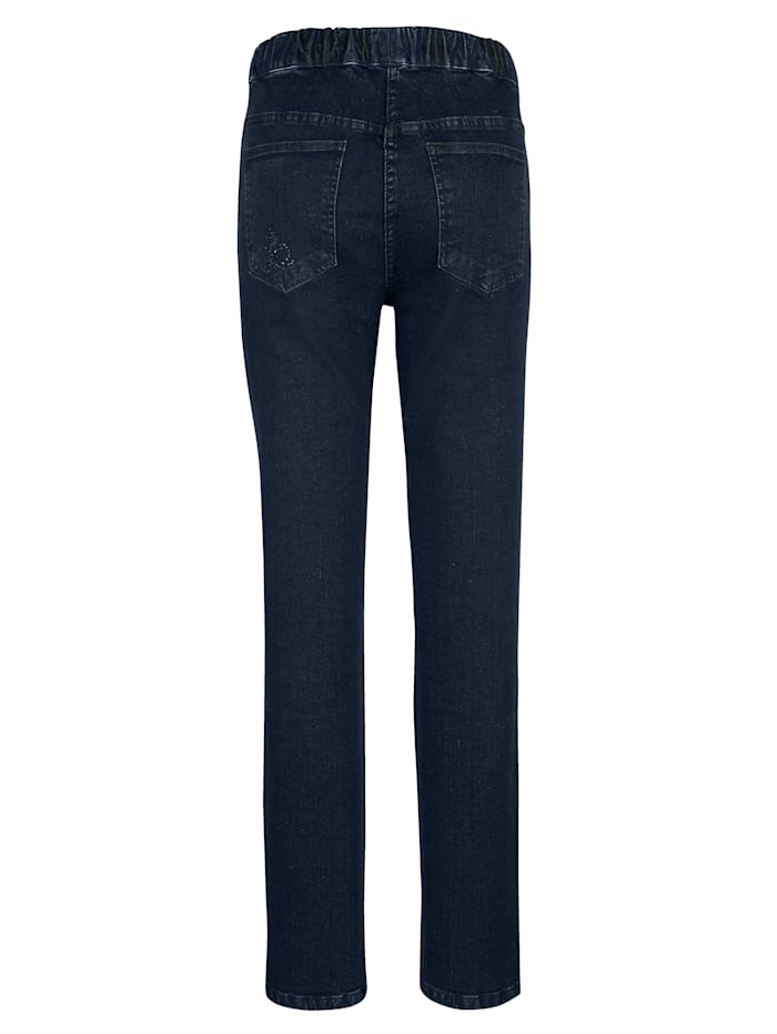 Jeans i smal modell